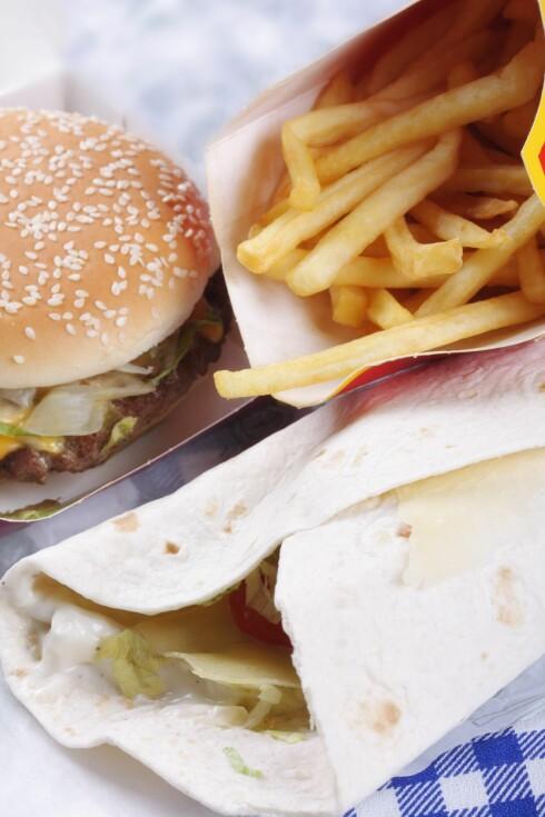 MYE MAT: Overspisere skjuler ofte det tidvis store matinntaket. Foto: All Over Press