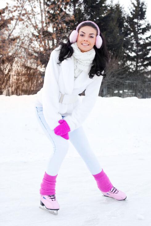 ISDANS: Om du kan gå på skøyter, hvorfor ikke gjøre dette som en del av vintertreningen? Foto: LanaK - Fotolia