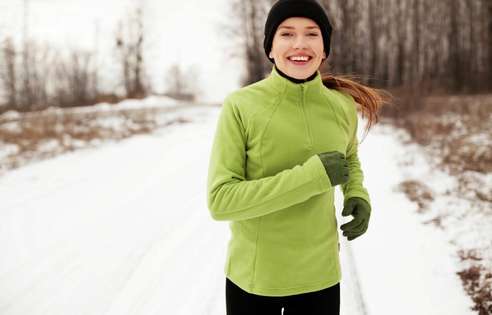 TOPP TRENING: Å legge løpeøkten utendørs er bra for kropp og sjel - men du må ta noen forholdsregler. Foto: Fotolia