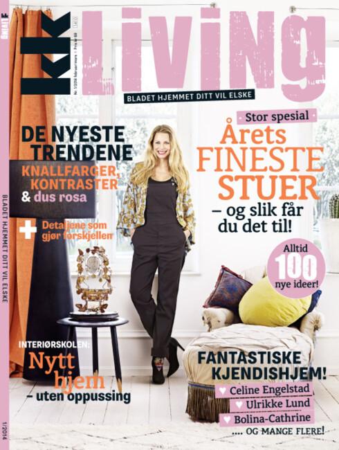 I BUTIKK: Det nye KK Living er i butikkhyllene fra mandag 27. januar!