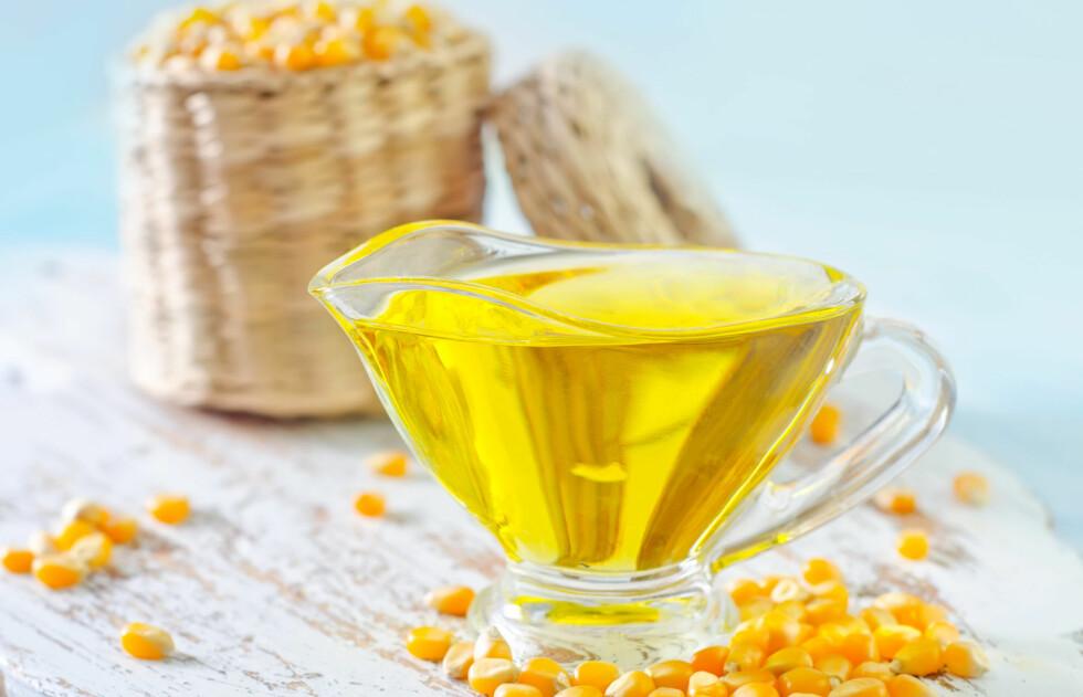 MAISOLJE: En ny studie viser at maisolje kan være enda mer effektiv i kampen mot hjertesykdom. Faktisk kan maisolje senke det dårlige kolesterolet med 11 prosent. Foto: tycoon101 - Fotolia