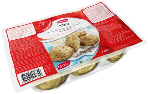 VELG SMART: Skal du gå for glutenfritt, så velg de grove variantene. Det finnes noen produsenter som lager dette. Foto: Sempler