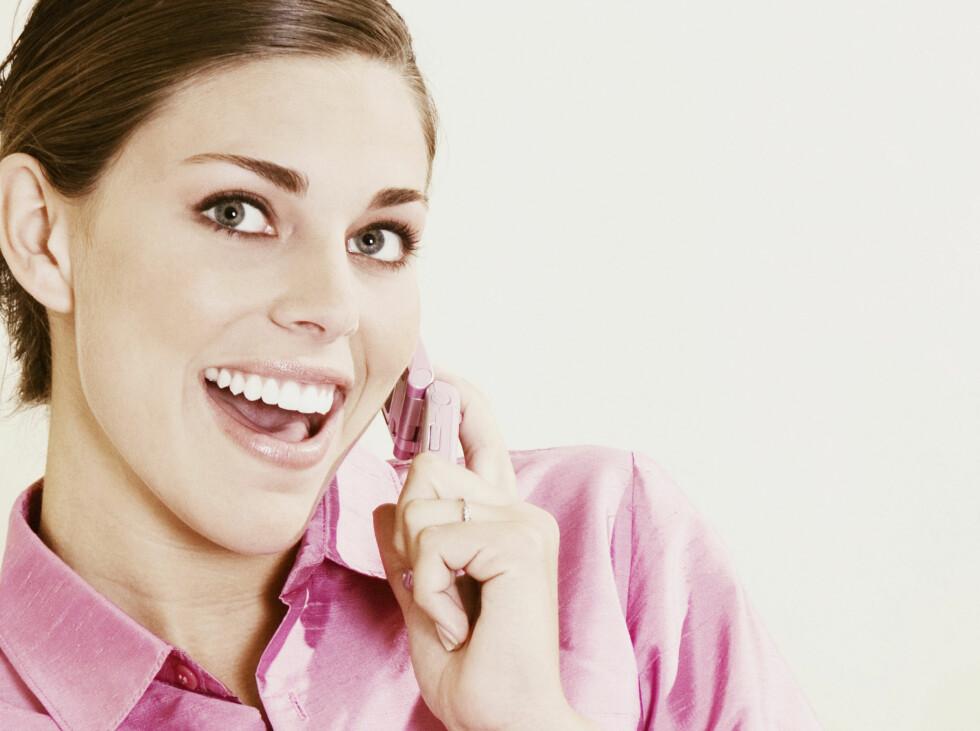 - Og jeg bare og så han bare, telefonen må jeg jo ha med, ikke sant?  Foto: Panther Media