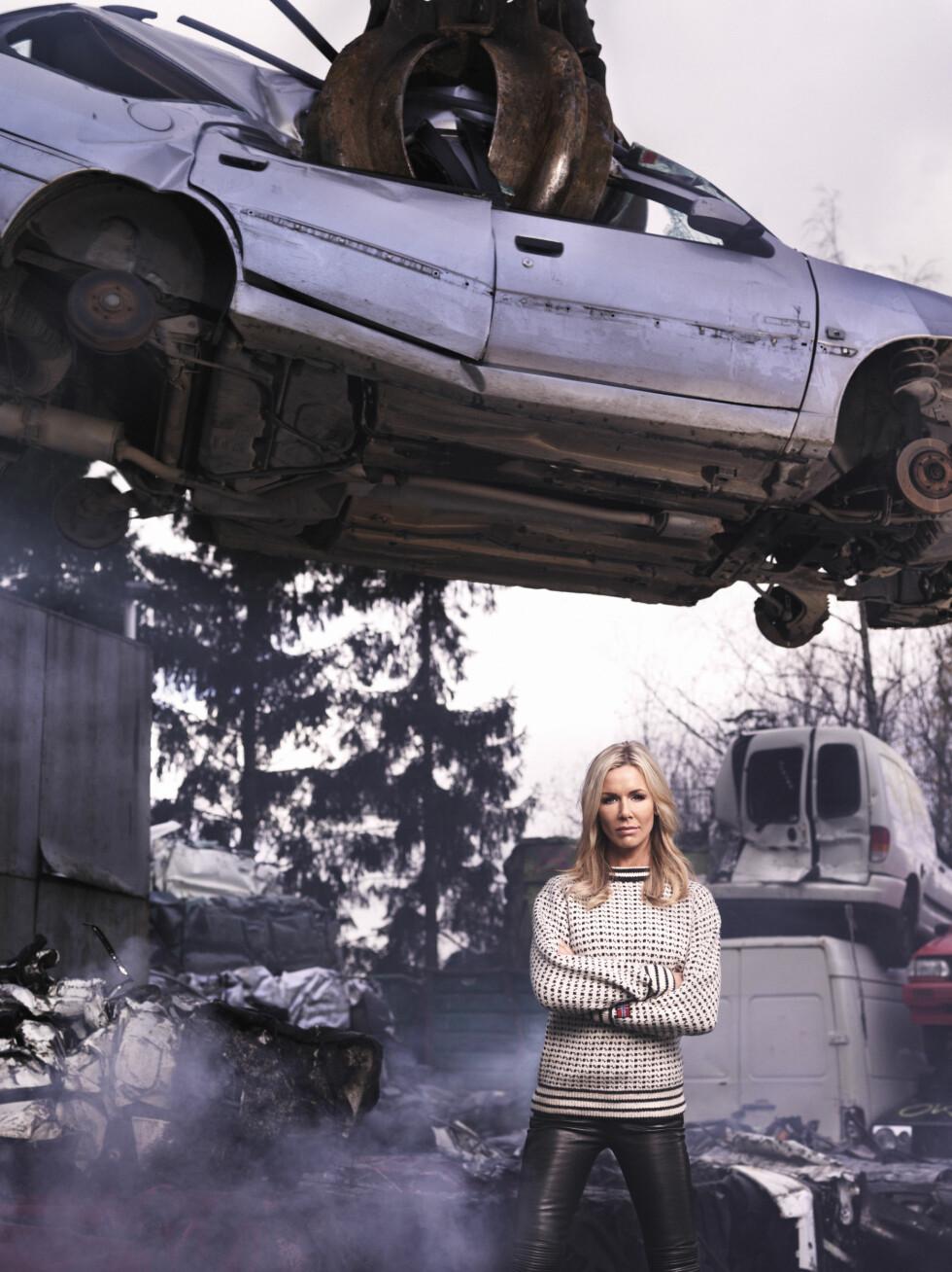 ÅRETS FIGHTER: Gunhild Stordalen er av kk kåret til årets fighter for sin klare oppfordring til å ta grønne valg og for å ha vært med på å skape større oppmerksomhet rundt miljøspørsmål. Foto: Morten Quale