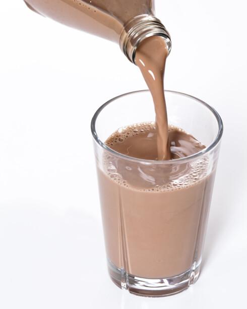 <strong>MER NÆRINGSSTOFFER:</strong> Sjokolademelk er et bedre alternativ til sukkerholdig brus, da det ofte inneholder en tredjedel av sukkermengden.