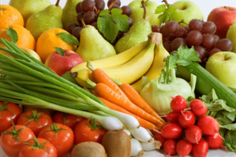GRØNNSAKER. Du trenger ikke knaske kli for å få i deg nok kostfiber. Foto: Thinkstock.com