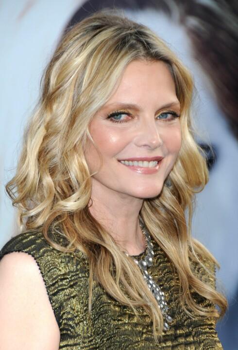 EKSTREMDIETT: En sekt ville ha Michelle Pfeiffer til å leve på luft og sollys ... Foto: All Over Press