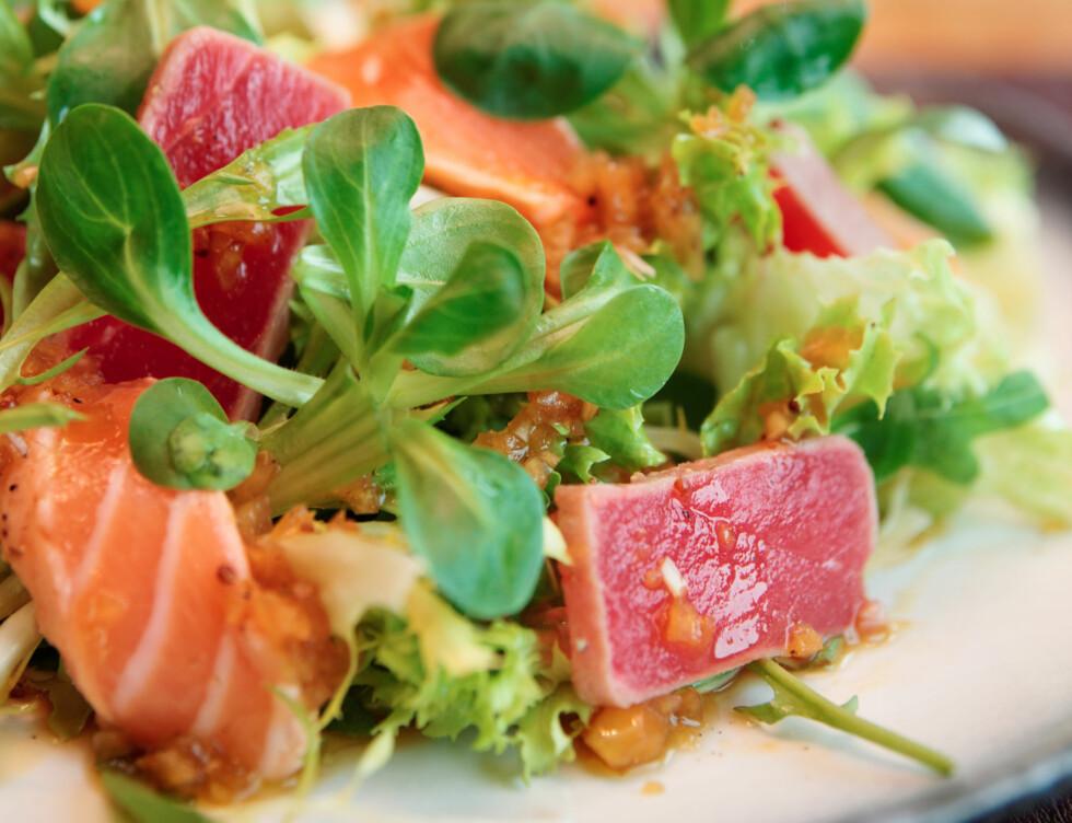 <strong>GJELDER OGSÅ LAKS:</strong> I tillegg til tunfisk er også laks svært fordelaktig på grunn av de sunne omega-3 fettsyrene.  Foto: Kondor83 - Fotolia