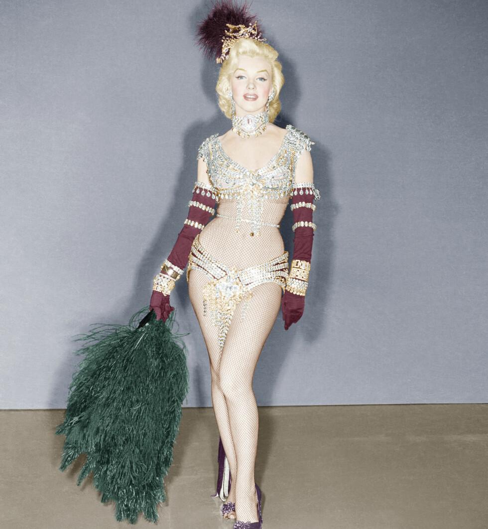 MARILON MONROE: Her avbildet cirka 1950, var kjent som en sexbombe.  Foto: Copyright ?? Everett Collection / Everett Collection/All Over Press