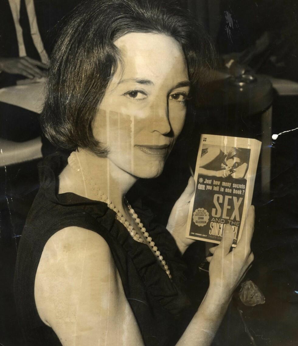 HELEN GURLEY BROWN:Ble suksesforfatter med boken Sex and the Single Girl i 1962.  Foto: All Over Press