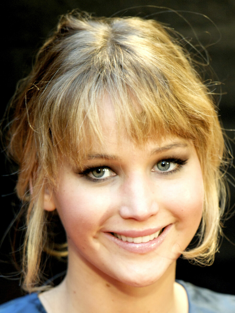 Selv med hverdagshår ser Jennifer Lawrence bedre ut med de lysere lokkene.  Foto: REX/Picture Perfect/All Over Press