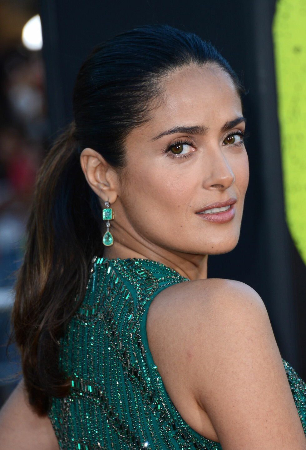LOS ANGELES, CA - JUNE 25:  Actress Salma Hayek arrives at the premiere of Universal Pictures Savages at Westwood Village on June 25, 2012 in Los Angeles, California.  (Photo by Michael Buckner/Getty Images) Foto: Getty Images/Getty Images/All Over Press