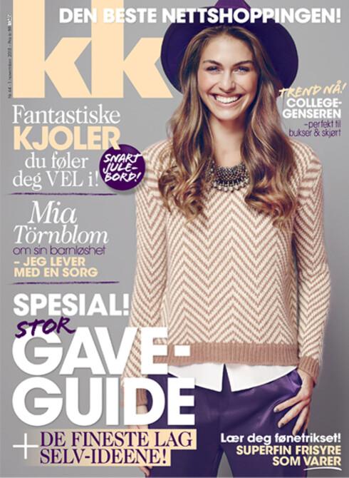 RESTEN AV INTERVJUET leser du i KK44, som er i salg fra fredag 1. november. Der forteller Mia også om den store sorgen over ikke å få barn.