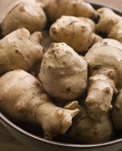 JORDSKOKK: Et godt alternativ til poteter. Foto: Colourbox.com