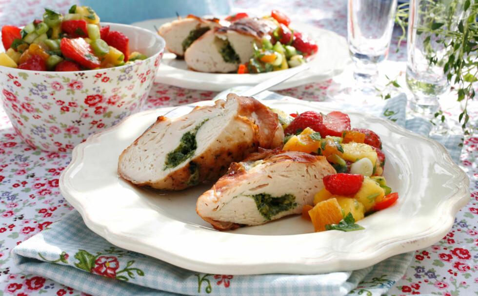 FULL AV PROTEIN: Kyllingfilet er magert kjøtt, og inneholder mye proteiner. Foto: All Over Press