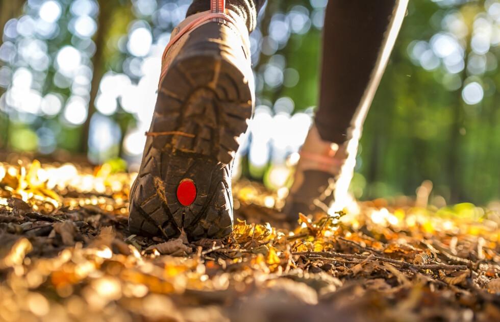 TA BEINA FATT PÅ FJELLET: Ifølge treningseksperten kan det være like effektivt som en joggetur.  Foto: Fotolia