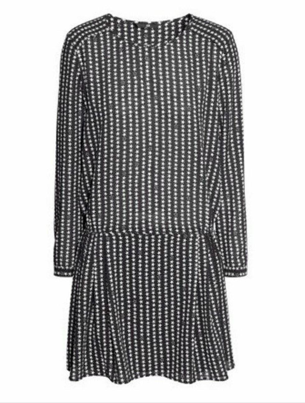 Isabel Marant-inspirert kjole i chiffon. 299 kroner, Hm.com.  Foto: Produsenten