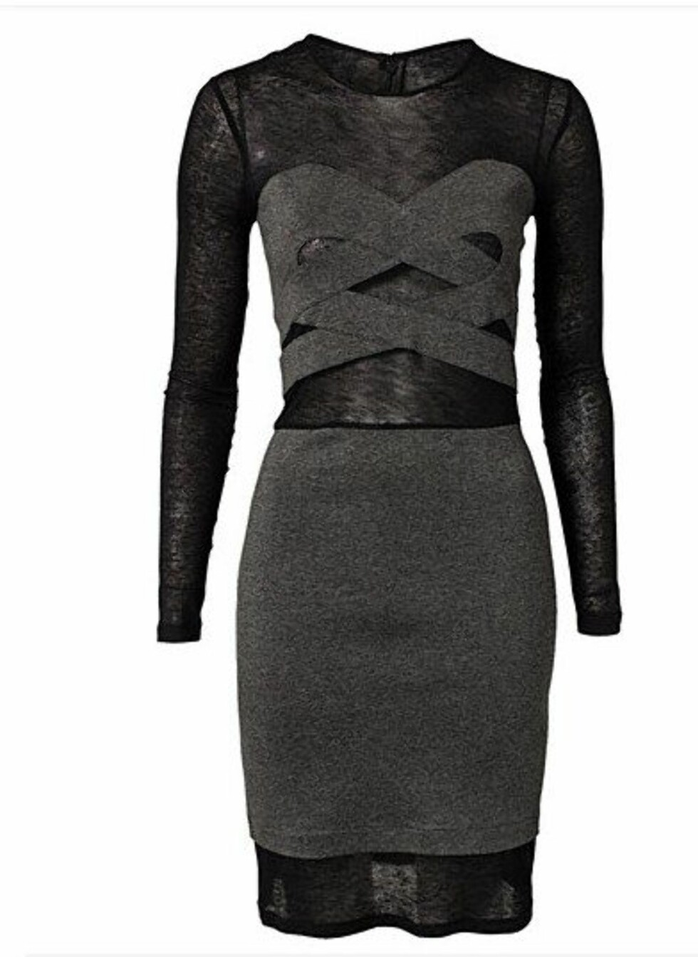 Lekker bondageinspirert kjole fra Designer's Remix. 2095 kroner, Nelly.com.  Foto: Produsenten