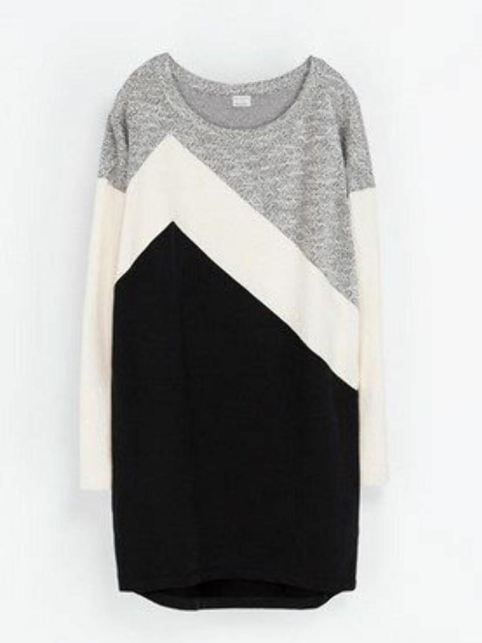 Kul genserkjole som er perfekt til jobb. 399 kroner, Zara.no.  Foto: Produsenten