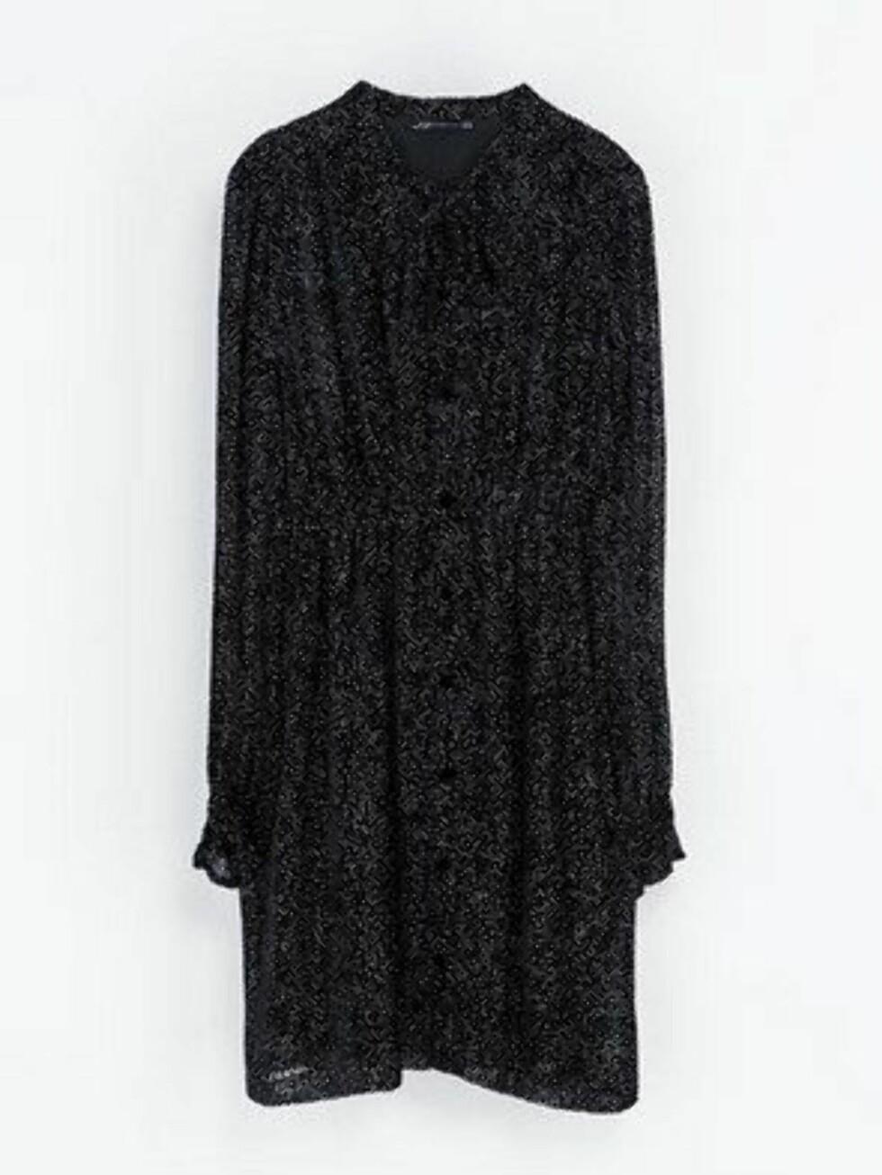 Lekker svart blondekjole. 799 kroner, Zara.no Foto: Produsenten