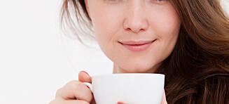 Ikke start dagen med en kaffekopp