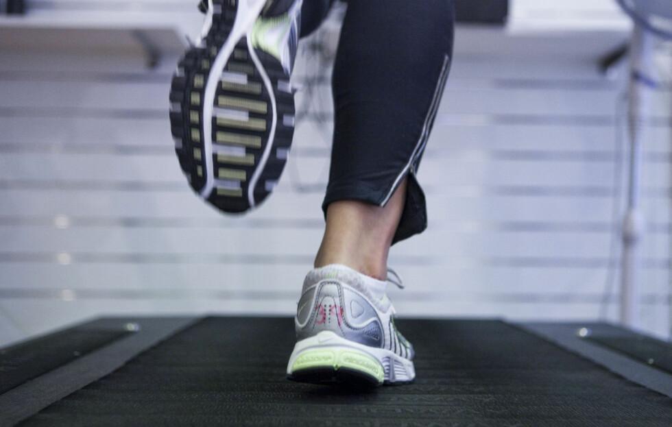 FÅ MER UT AV ØKTEN: Ved å følge noen enkle programmer når du står på tredemølla kan du få opp pulsen og utfordre deg selv slik at formen blir bedre raskere.  Foto: Per Ervland