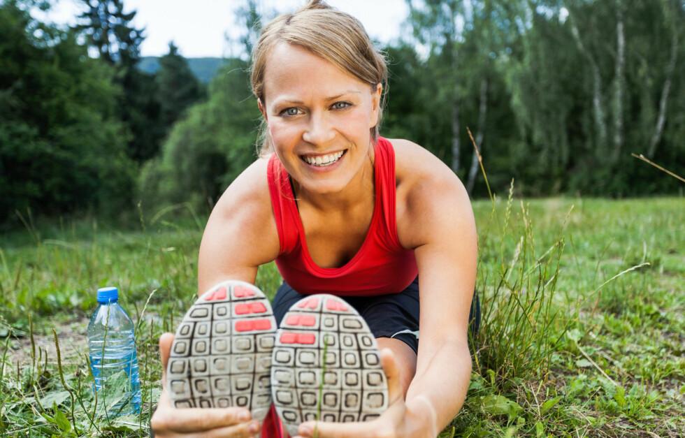 BLI MYKERE: Hadde du klart å gjøre dette? I denne saken får du tips til hvordan du kan øke bevegeligheten din! Foto: blas - Fotolia