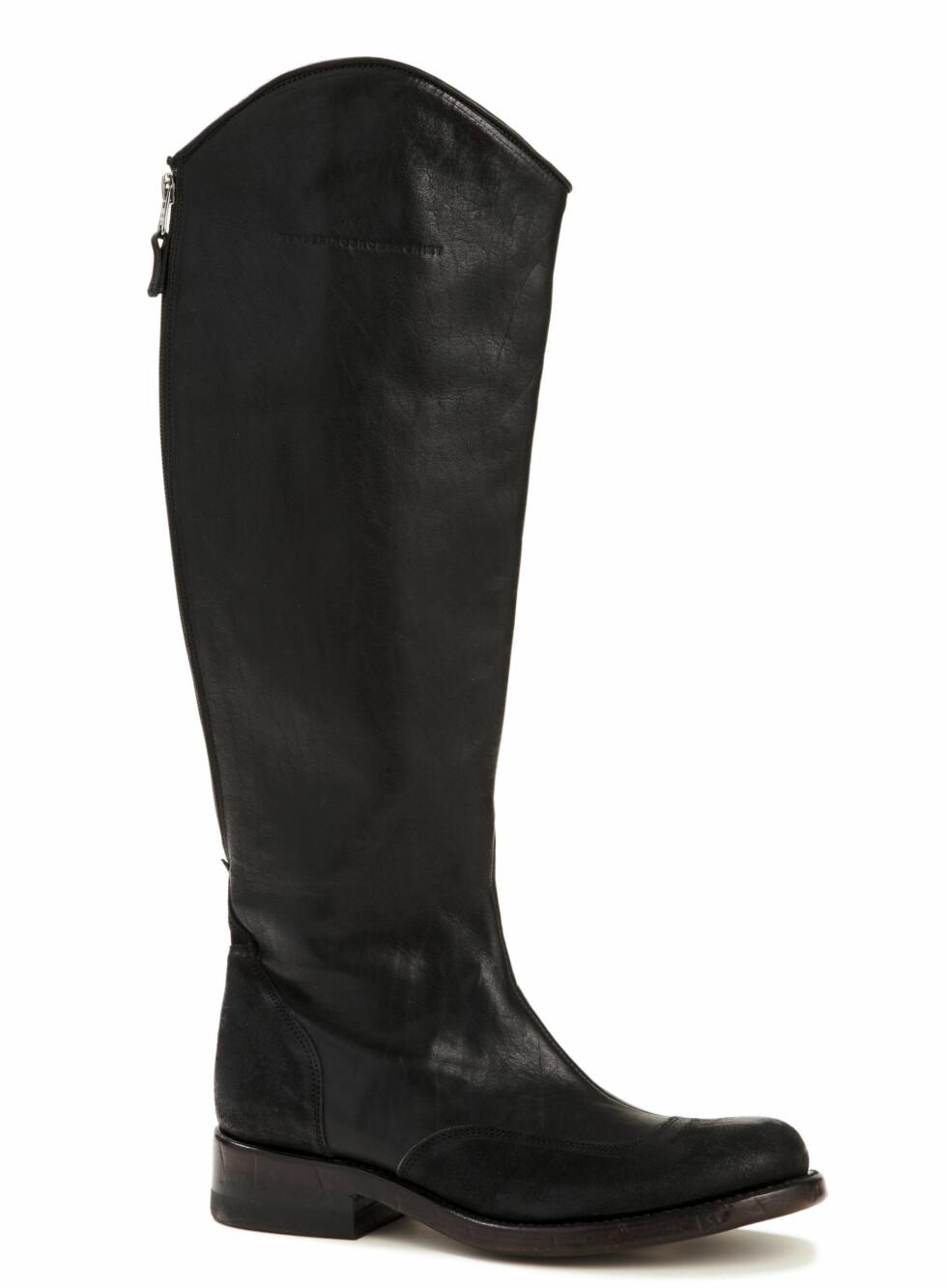 36 skoguide højskaftet_CSS Femina moteserie Skoguide sko Christine Sonne-Schmidt Modell: Vanessa