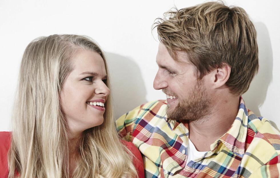 NÆR DØDEN: Caroline Gundhus Nysted og Thomas Nysted har brutalt erfart at vi bare har én sjanse. Å prioritere riktig er blitt veldig viktig.  Foto: Geir Dokken