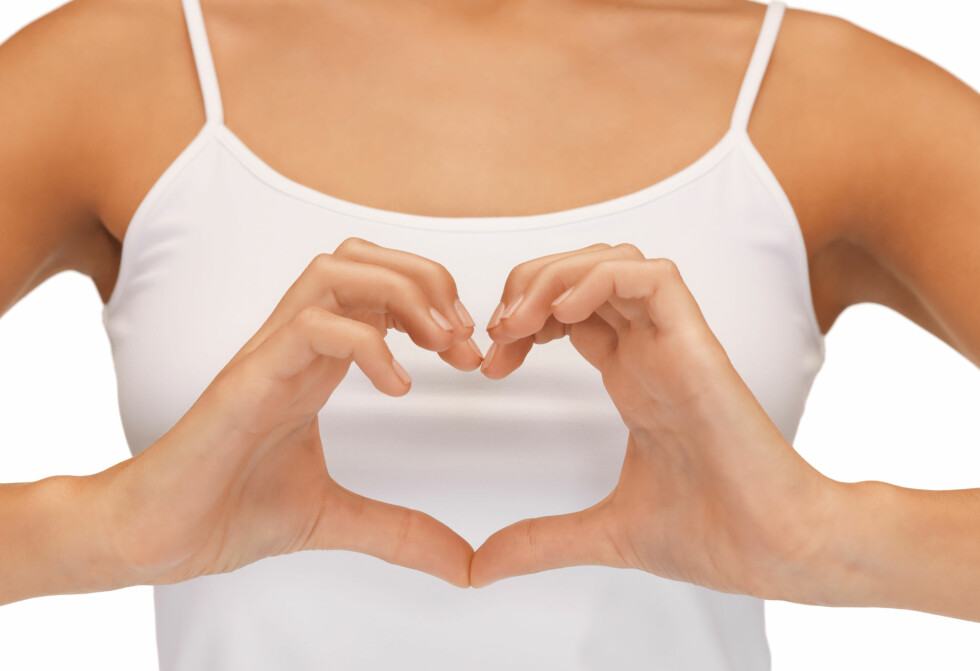 TA VARE PÅ HJERTET DITT: Hjertesykdom er en av de vanligste årsakene til dødsfall blant kvinner, det er derfor ekstra viktig at du tar godt vare på det.  Foto: Syda Productions - Fotolia