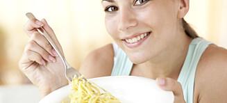 Få kontroll over porsjonene dine