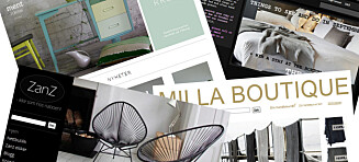 Her er de beste interiørbutikkene på nett