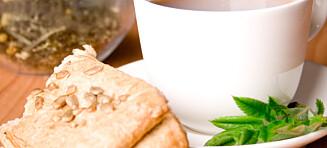 Ikke drikk grønn te til maten