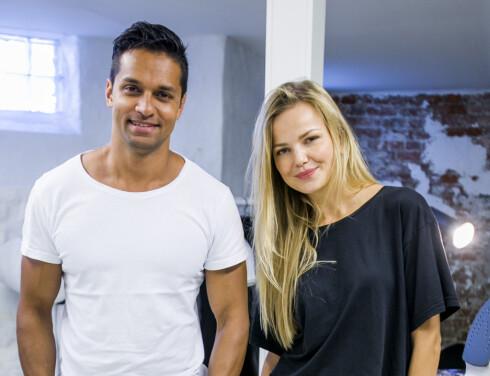 MARDOU & DEAN: Patrik Rosenfors og Ingrid Bredholt står bak merket Mardou & Dean. Foto: Per Ervland