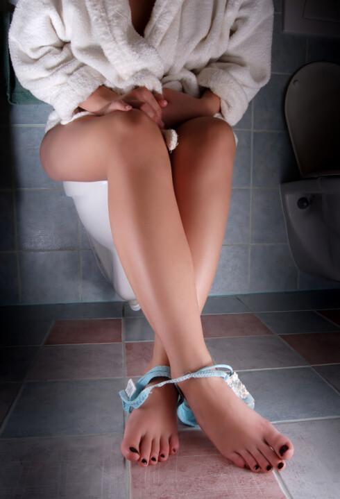 VANSKELIG Å HOLDE SEG? Heldigvis er det mulig å gå bukt med problemet.  Foto: loutocky - Fotolia