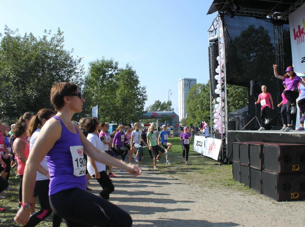 Alt om den store løpefesten - før mål