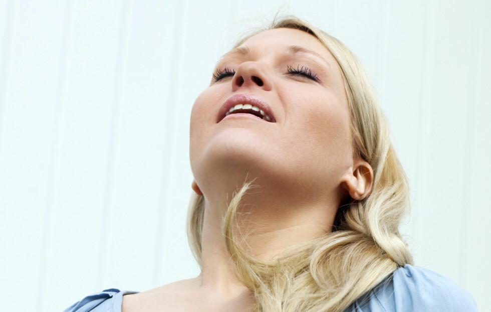 IKKE TA DEN FOR GITT: God pust kan utgjøre stor forskjell for helsa di. Foto: Laurent Hamels - Fotolia