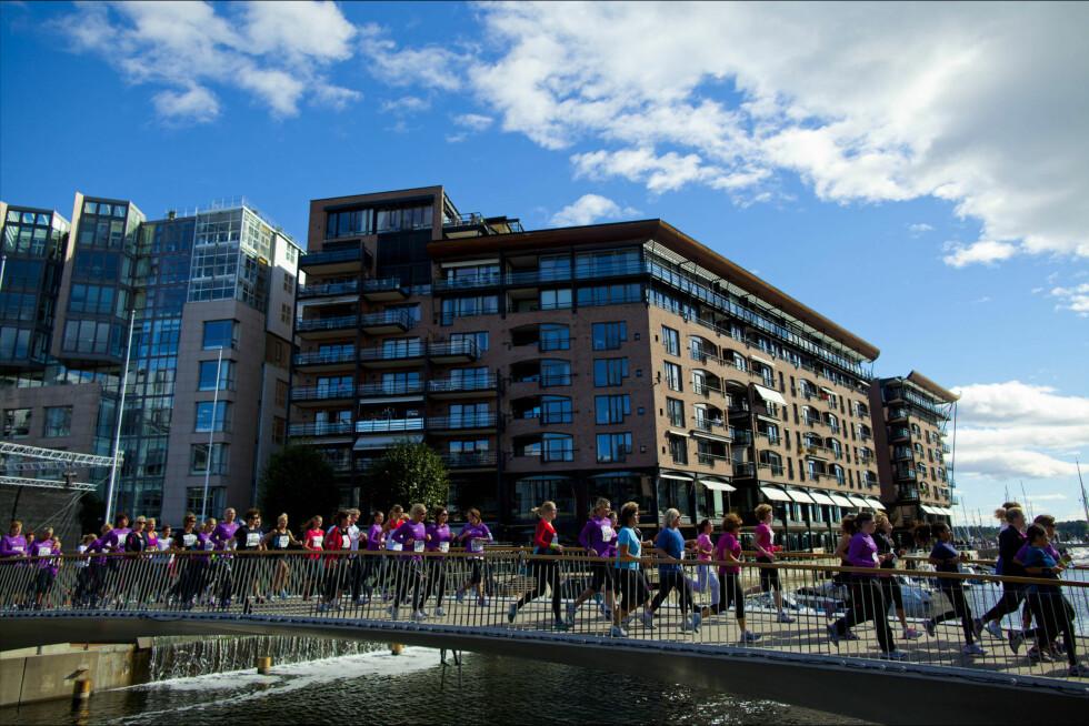 KOM I FORM: Et løp, som KK-mila eller Oslo Maraton, krever en del - men du rekker fortsatt å komme i form! Foto: KK/Sara Johannessen