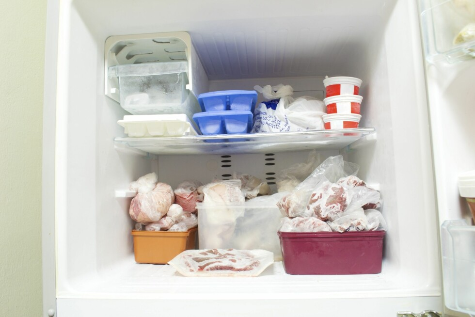 EN TIME: Ifølge rengjøringsekspert Else Liv Hagesæther, tar rengjøring av fryseren maks en time.  Foto: rifanny - Fotolia