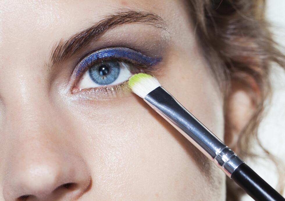 Bruk flere farger på øynene