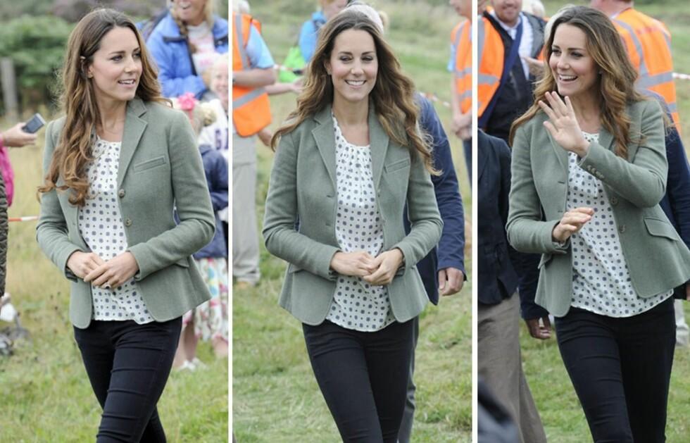 <strong>KATE MIDDLETON 6 UKER ETTER:</strong> Seks uker etter fødselen ser hertuginne Kate like slank ut som før graviditeten. Det er ikke nødvendigvis noe å misunne henne for ...  Foto: All Over Press