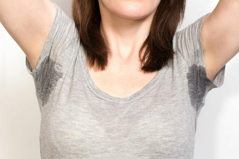 INDIVIDUELT: Hvor mye du svetter, er helt individuelt og ikke så mye å gjøre noe med. Men lukten, den kan du forhindre.  Foto: Fotolia