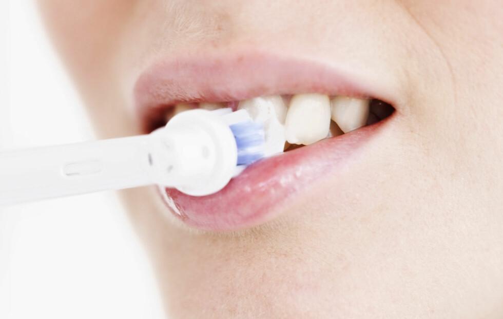 GOD TANNHYGIENE BESKYTTER MOT KREFT: God tannhygiene er viktig for en god tannhelse, naturlig nok, men også for å forebygge HPV-infeksjon og kreft, det viser en ny studie.  Foto: Getty Images