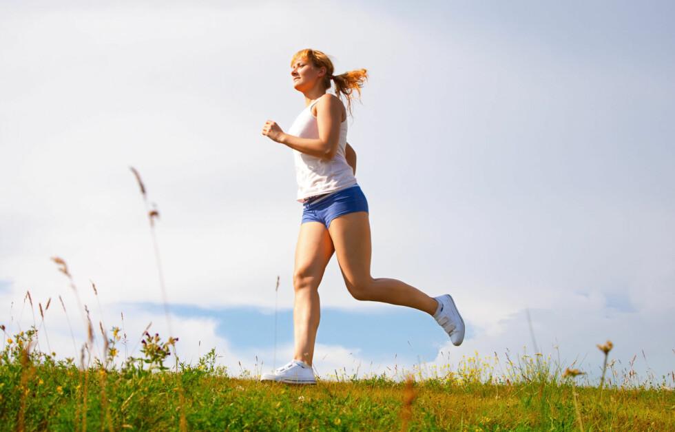 TRÅKK TIL: 7. september er det klart for KK-mila - kom i gang med løpingen og blo med på moroa! Foto: Colourbox