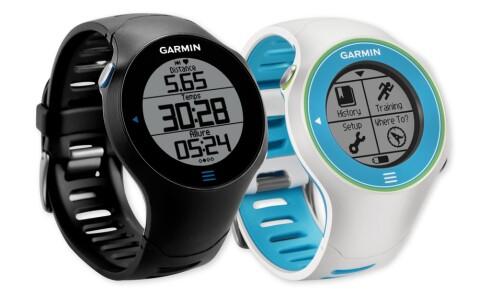 GARMIN FORERUNNER 610 HR: Modellen for deg som vil ha litt mer ut av klokken.
