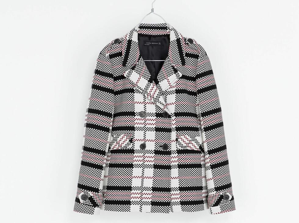 Jakke (kr 1000, Zara). Foto: Produsenten
