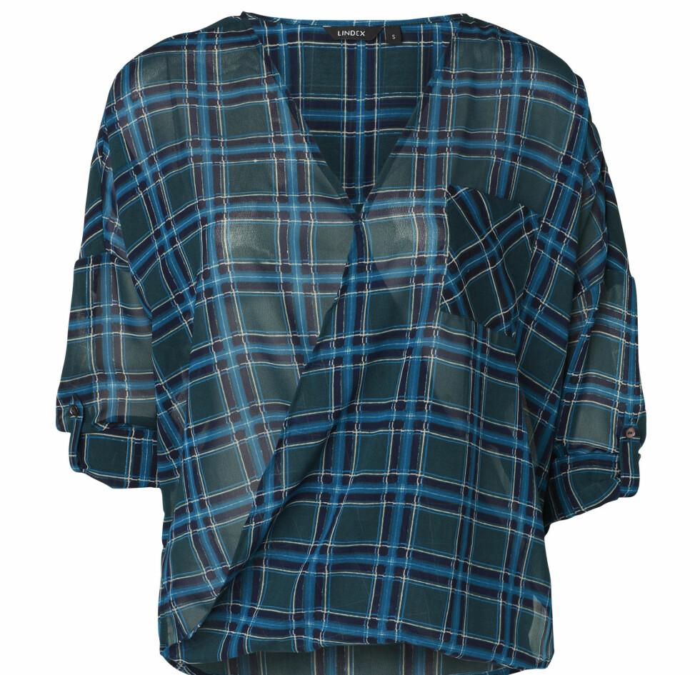 Bluse (kr 300, Lindex). Foto: Produsenten