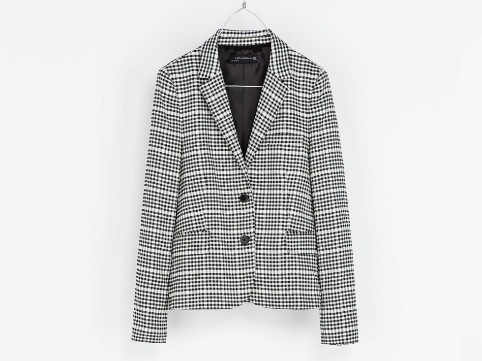 Blazer (kr 1000, Zara). Foto: Produsenten