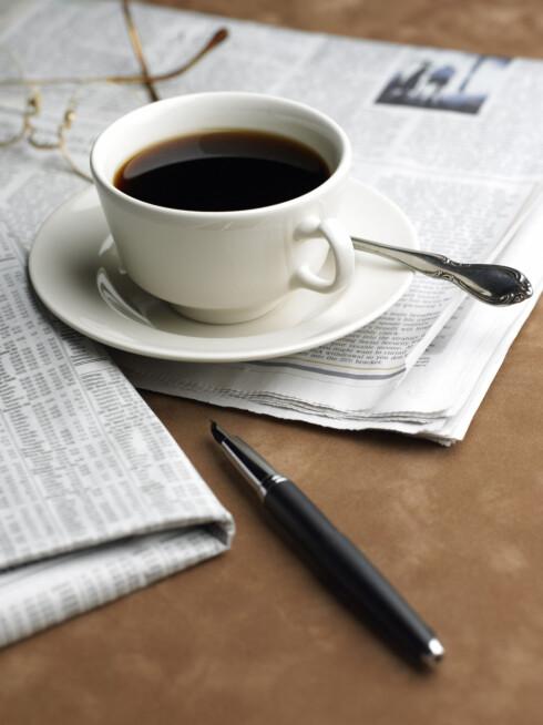 <strong>HOLDER IKKE:</strong> En kopp kaffe til frokost er IKKE bra dersom du ønsker å holde energinivået oppe og vekten nede.  Foto: Thinkstock.com