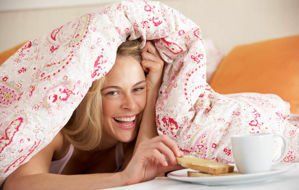 <strong>INNEN ÉN TIME:</strong> Spis frokosten din innen én time etter at du har stått opp.  Foto: Monkey Business - Fotolia
